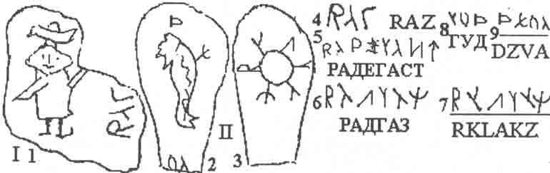 Наше чтение надписи на боге Цирнитре